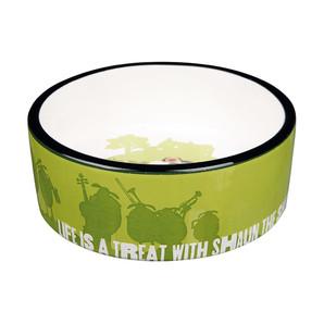 [ラブリー・ペット] TRIXIE ひつじのショーン セラミックボウル 餌入れ えさ入れ フードボール ペット用 食器 25044