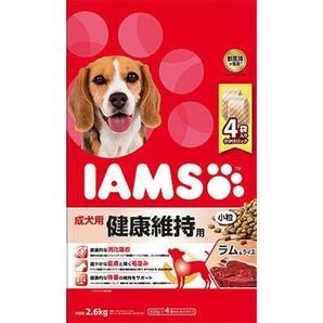 [マースジャパン] IAMAS アイムス 成犬用 健康維持用 ラム&ライス 小粒 2.6kg