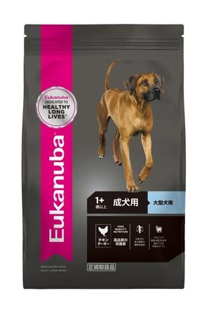 [ユーカヌバ] ラージ アダルト 成犬用 大型犬用 1歳以上 13.5kg