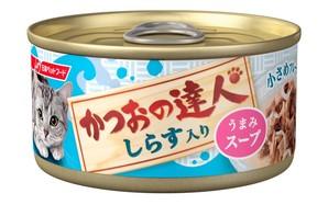 [日清ペットフード] かつおの達人 しらす入り うまみスープ 80g (TC9)