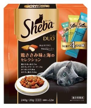 SDU11 シーバ デュオ 鶏ささみ味と海のセレクション 240g