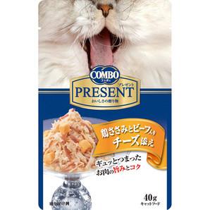[日本ペットフード] コンボPCレトルトささみBチーズ40g