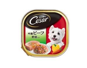 CE27N シーザー 吟選ビーフ 野菜入り 100g