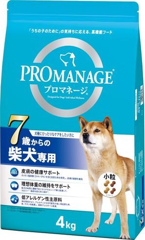 [マースジャパン] プロマネージ 7歳からの柴犬専用 4kg
