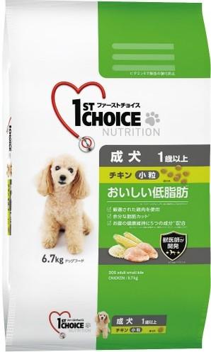 [アース・ペット] ファーストチョイス 成犬小粒チキン 6.7kg