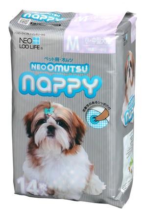 [コーチョー] NEO OMUTSU ネオ・オムツ Nappy M14枚 小・中型犬用