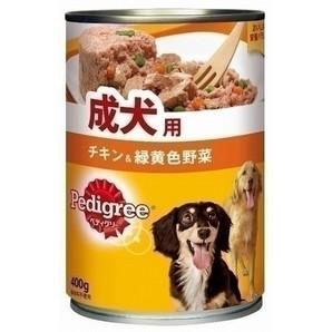 P72 ペディグリー 成犬用 チキン&緑黄色野菜 400g