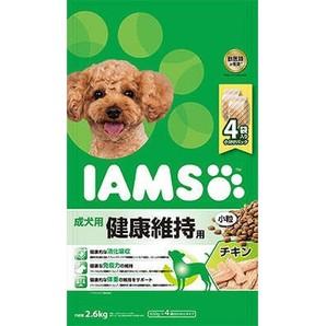 [マースジャパン] IAMAS アイムス 成犬用 健康維持用 チキン 小粒 2.6kg