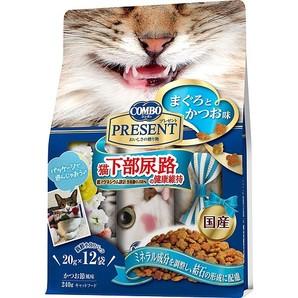 [日本ペットフード] コンボ プレゼント キャット ドライ 猫下部尿路の健康維持 240g