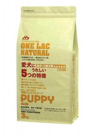 [森乳サンワールド] ワンラック ナチュラルニューパピー 3kg