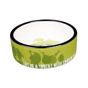 [ラブリー・ペット] TRIXIE ひつじのショーン セラミックボウル 餌入れ えさ入れ フードボール ペット用 食器 25043