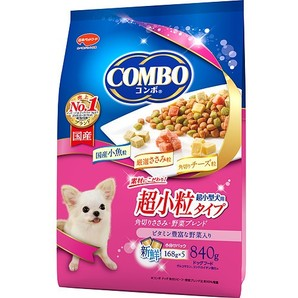 コンボ ドッグ 超小型犬用 角切りささみ・野菜ブレンド 840g