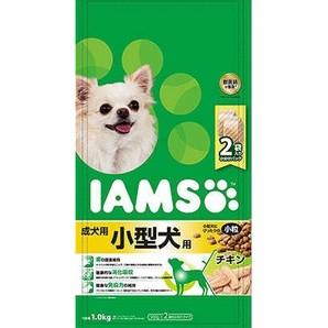 [マースジャパン] IAMAS アイムス 成犬用 小型犬用 チキン 小粒 1kg
