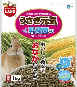 [マルカン]うさぎ元気乳酸菌入りお徳用 1kg ML-29