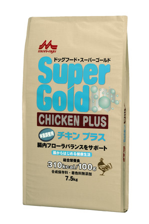 [森乳サンワールド] SuperGold チキンプラス 体重調整犬用 7.5kg