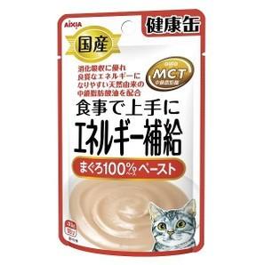 [アイシア] 国産 健康缶パウチ エネルギー補給まぐろ 40g