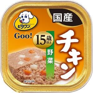 ビタワングー 極旨チキン 野菜 15歳以上 90g