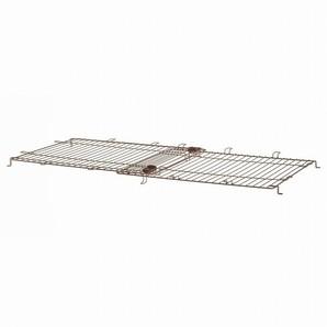 [リッチェル] 木製スライドペットサークル ワイド屋根面