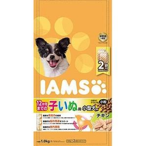 [マースジャパン] IAMAS アイムス 12か月までの子いぬ用 小型犬用 チキン 小粒 1kg