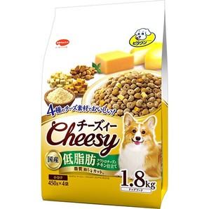 [日本ペットフード] ビタワン チーズィー クワトロチーズとチキン仕立て 低脂肪 1.8kg
