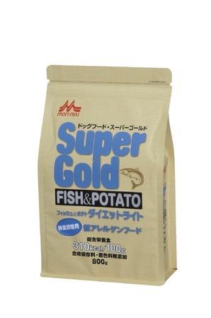 [森乳サンワールド] スーパーゴールド フィッシュアンドポテト ダイエットライト 800g