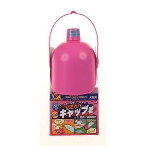 [ドギーマンハヤシ] おでかけボトルキャップ君 ピンク