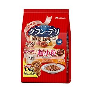 [ユニチャーム] グラン・デリ 食べやすい超小粒 1.9kg