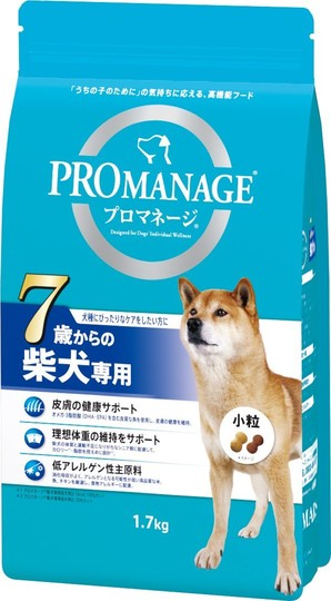 [マースジャパン] プロマネージ 7歳からの柴犬専用 1.7kg