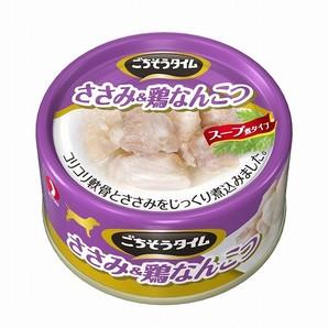 ごちそうタイム(缶) ささみ&鶏なんこつ 80g