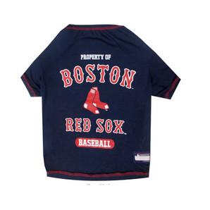 [ラブリー・ペット] ボストンレッドソックス Tシャツ XLサイズ