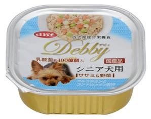 [デビフペット] デビィ シニア犬用 ササミ&野菜 100g