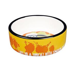 [ラブリー・ペット] TRIXIE ひつじのショーン セラミックボウル 餌入れ えさ入れ フードボール ペット用 食器 25040