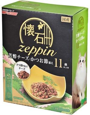 [日清ペットフード] 懐石zeppin 11歳以上用 芳醇チーズ・かつお節添え 200g