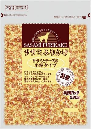 [九州ペットフード] お買い得ふりかけ 鶏ささみとチーズ 小粒タイプ 230g