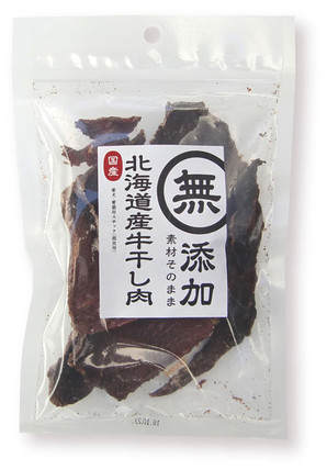 [THジャパン] 無添加 北海道産 牛干し肉 70g
