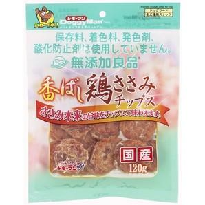 [ドギーマンハヤシ] 無添加良品 香ばし鶏ささみチップス 120g