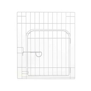 [リッチェル] カスタムペットサークル 単品 60入口付 ホワイト
