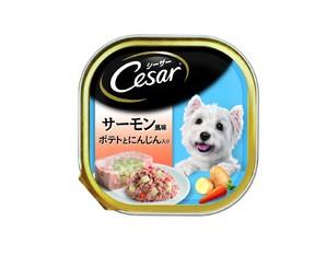 CE36N シーザー サーモン風味 ポテトとにんじん入り 100g