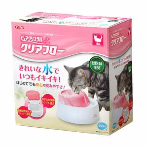 [ジェックス] ピュアクリスタル クリアフロー 猫用 ピンク