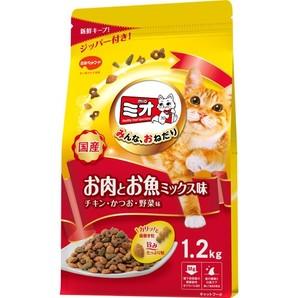 ミオドライミックス お肉とお魚ミックス味 1.2kg
