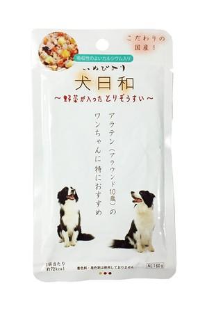 [わんわん] 犬日和 レトルト 野菜が入ったとりぞうすい 60g