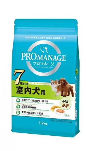 [マースジャパン] プロマネージ 7歳からの室内犬用 1.7g
