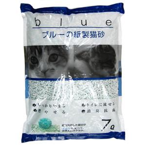 [ペットプロ] KPG ブルーの紙砂 7L