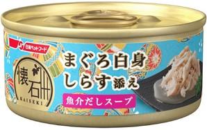 [日清ペットフード] 懐石缶kgC6スープまぐろしらす 60g