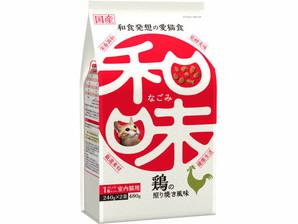 [アース・ペット] 和味 鶏の照り焼き風味 480g