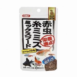 [イトスイ] 赤虫・糸ミミズ ミックスフード 納豆菌 7g
