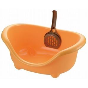[リッチェル] こネコのトイレ オレンジ