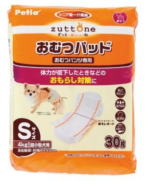 [ペティオ] 老犬介護用 おむつパッドK S