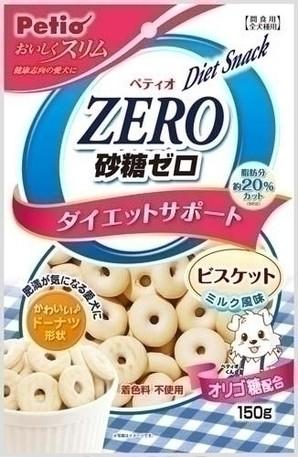 [ペティオ] おいしくスリム 砂糖ゼロビスケット ミルク風味 150g