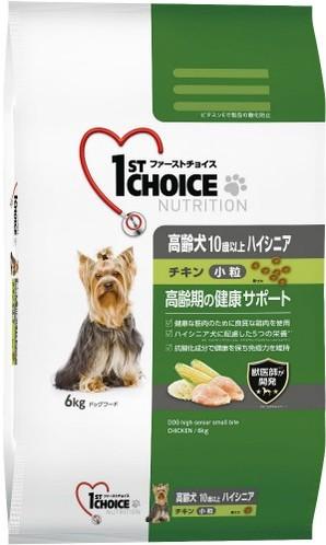 [アース・ペット] ファーストチョイス 高齢犬ハイシニア小粒チキン 6kg